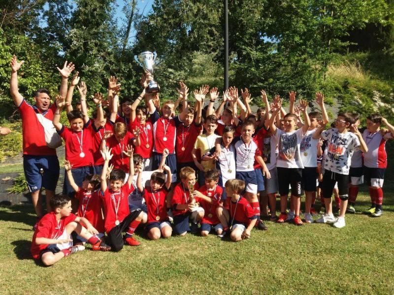 Etruria calcio a Cesenatico per l'8a edizione del Mirabilandia Youth Festival