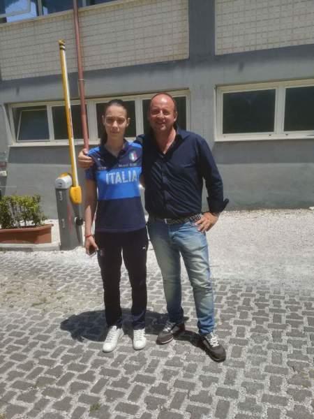 Orvieto Fc, Martina Antonelli al suo secondo stage con la Nazionale Italiana Under 17 di calcio a 5 a Roma.
