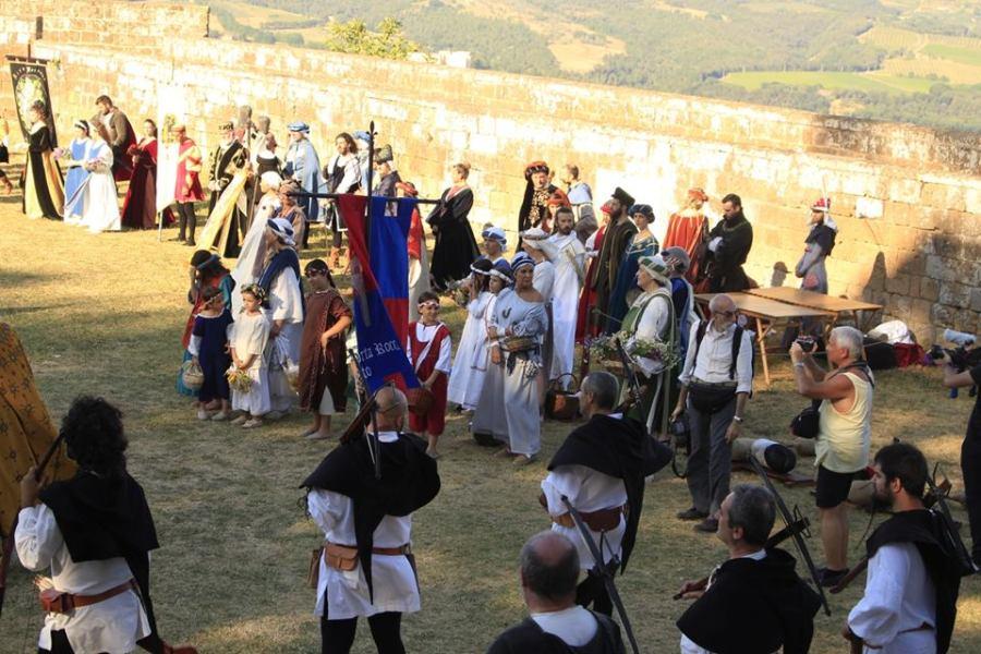 """Parco tematico all'Albornoz, Orvieto1264: """"Ambizioso progetto iniziato con Ludi alla Fortezza"""""""
