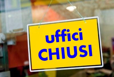 Uffici comunali chiusi il 14 agosto. Bilioteca Fumi riapre il 28 agosto