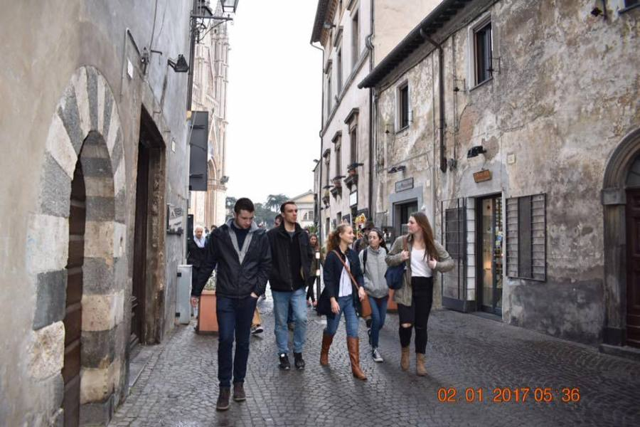 """Il vento d'America soffia sulla Rupe, Orvieto sempre più """"International city"""""""