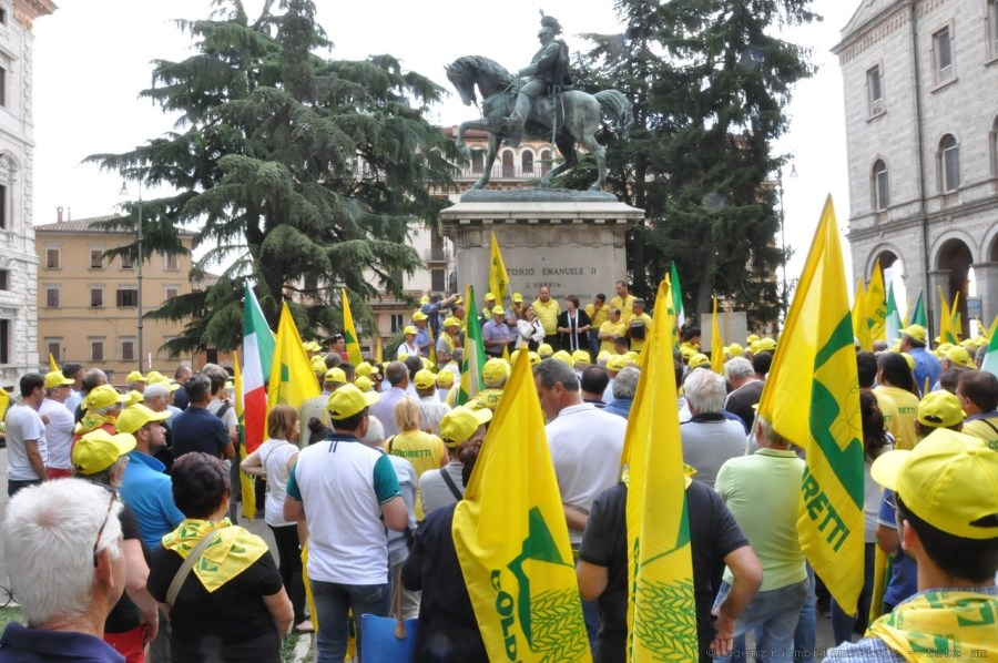 Stop a rincari acqua per imprese agricole, soddisfazione di Coldiretti Terni