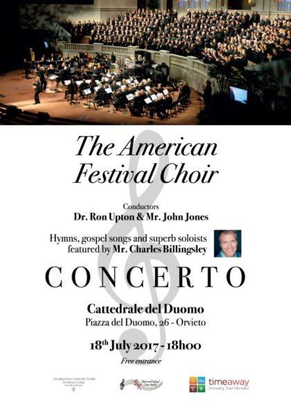 Concerto di AMERICAN FESTIVAL CHOIR in Duomo