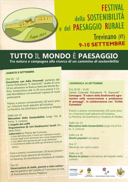 Il valore della biodiversità agronomica nella conservazione e produzione di paesaggi, appuntamento a Trevinano