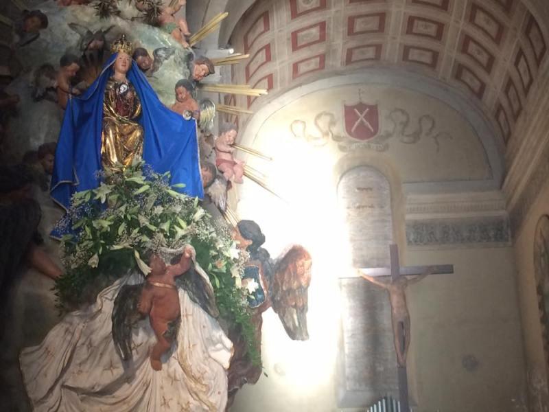 Festa della Madonna Assunta 1 parte: gli eventi nella Collegiata di Sant'Andrea e San Bartolomeo