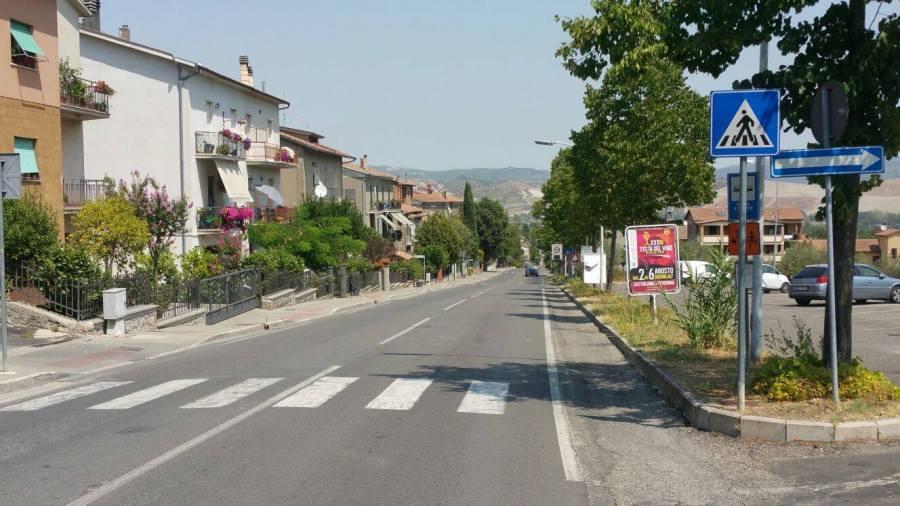 Troppo traffico a Sferracavallo, scatta il divieto di transito ai mezzi pesanti provenienti da Orvieto. Ecco la nuova disciplina