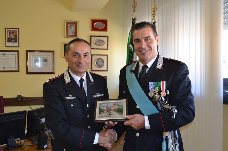 Il tenente colonnello Petronio lascia l'incarico di comandante del nucleo investigativo