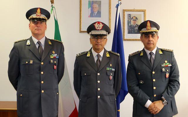 Guardia di Finanza, il colonnello Massimiliano Giua è il nuovo comandante provinciale