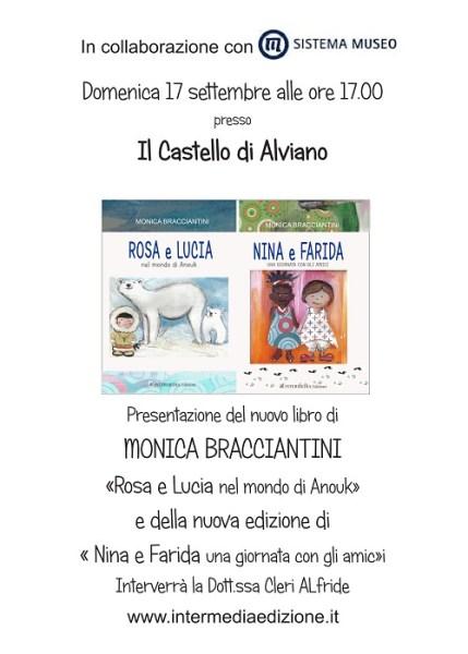 Al Castello di Alviano presentazione del nuovo libro Rosa e Lucia nel mondo di Anouk