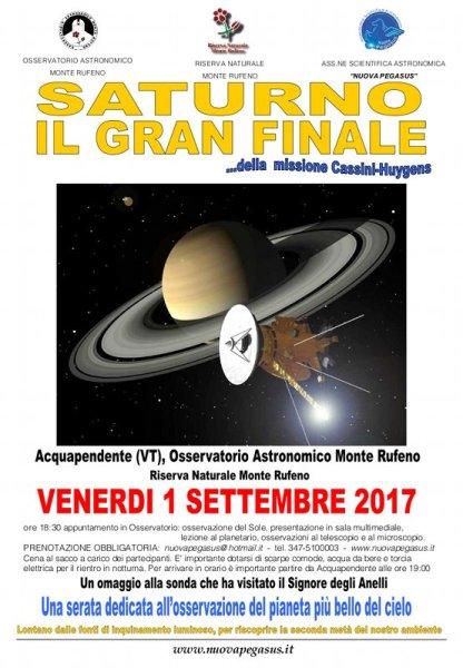 Causa maltempo la visita all'osservatorio astronomico Monte Rufeno si svolgerà sabato 2 settembre