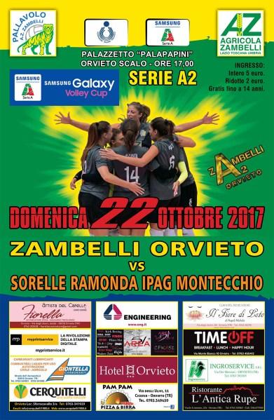 Zambelli Orvieto, serve l'orgoglio contro Montecchio Maggiore