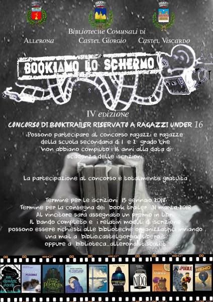 """""""Bookiamo lo schermo"""", al via la IV edizione del concorso di Booktrailer per ragazzi"""