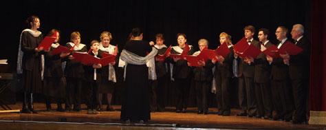 """Il coro aquesiano """"Vox Antiqua"""" ha interpretato il Requiem di Mozart alla Basilica di S. Spirito di Firenze"""