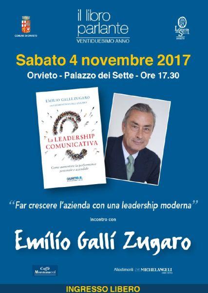 """Riparte """"Il Libro Parlante"""" alla Libreria dei Sette di Orvieto. Incontro con Emilio Galli Zugaro"""