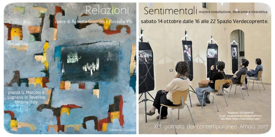 """A Lugnano in Teverina """"Relazioni sentimentali, dialogando tra fotografia, pittura e teatro"""""""