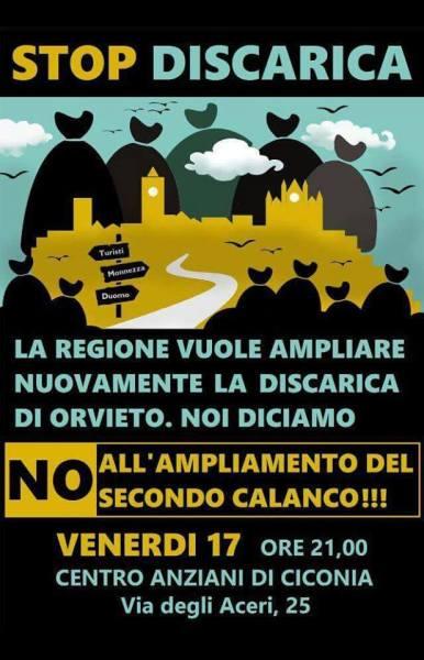 I cittadini dicono NO all'ampliamento del secondo calanco a Le Crete. Incontro pubblico a Ciconia.