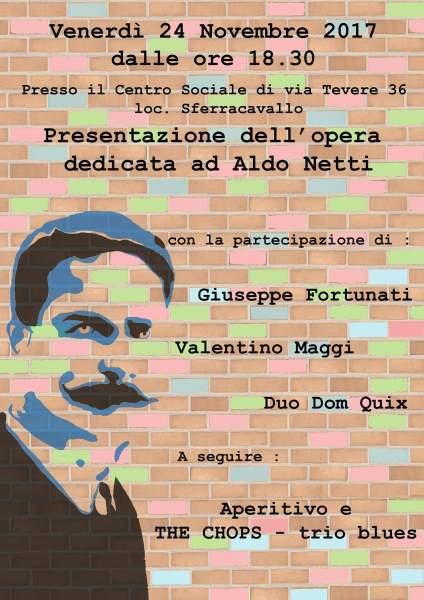 Orvieto StreetArt, un incontro pubblico per riscoprire Aldo Netti