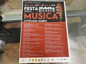 Festa della Musica 2017 ad Avigliano Umbro, la musica come veicolo sociale e culturale