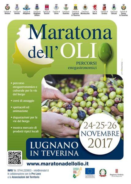 Presentata a Roma l'8A Maratona dell'Olio in programma a Lugnano in Teverina