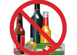 Ordinanza divieto vendita per asporto bevande in vetro o lattina