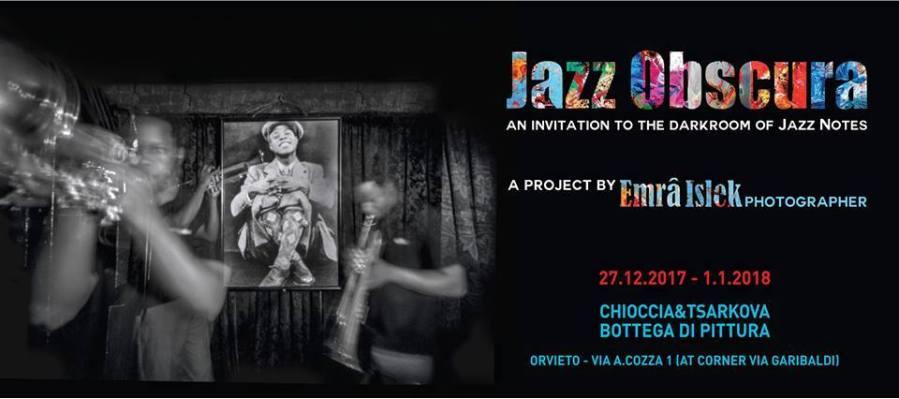 """""""Jazz Obscura"""", 17 foto in camera oscura in mostra nella cantina dello Studio Chioccia Tsarkova"""