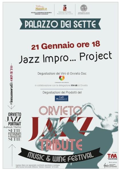 """A Palazzo dei Sette """"Jazz Impro… Project"""" con il maestro Mauro Verrone"""