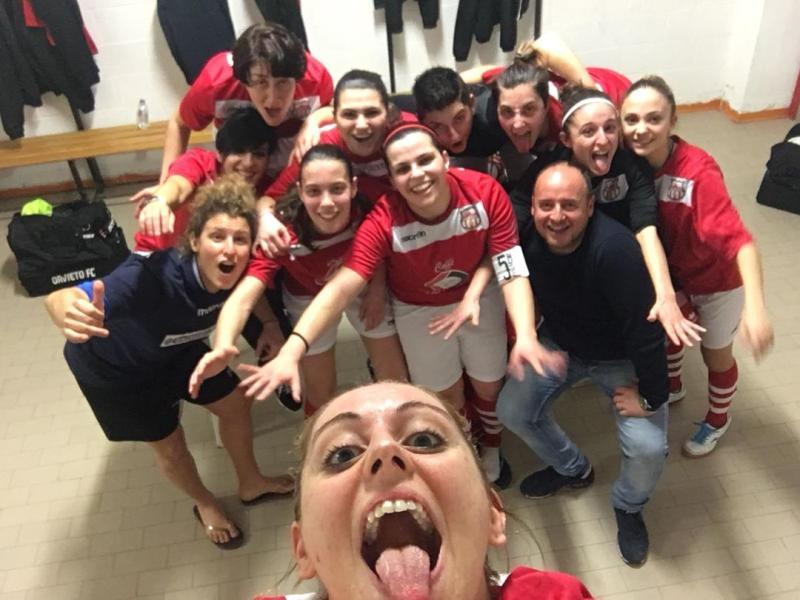 Orvieto Fc, le donne della compagine di calcio a 5 femminile mettono Ko il Collesanto