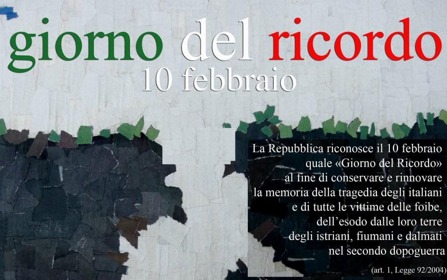 San Venanzo, iniziativa a scuola per la Giornata del Ricordo