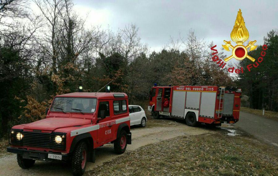 Si ferisce mentre stava tagliando piante, soccorso dai vigili del fuoco di Orvieto
