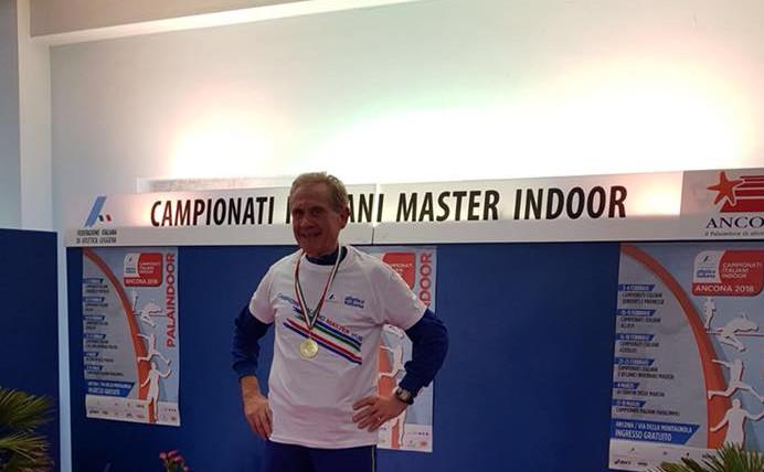 Campionati italiani Master Indoor di Ancona, altra marcia trionfale per la Libertas Orvieto