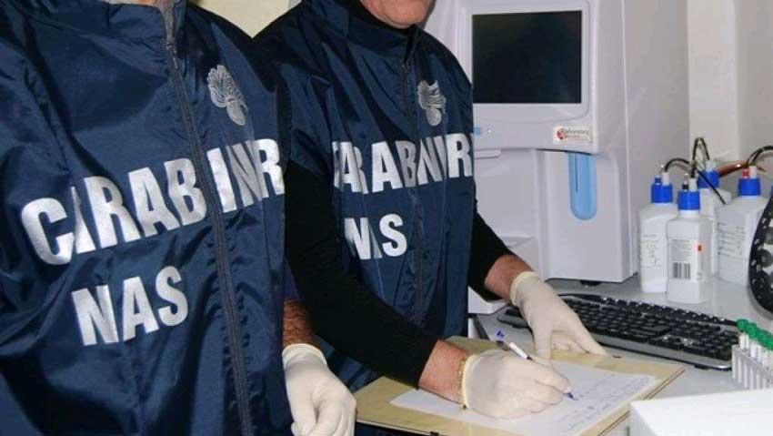 Carenze igienico sanitarie, ispezione dei Nas a laboratorio di panificazione