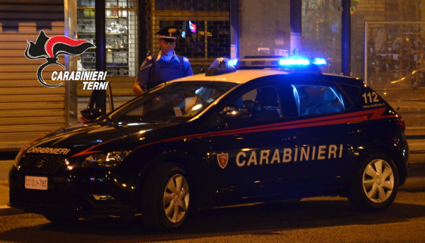 Terni-Orte, controlli straordinari del territorio da parte dei carabinieri di Terni