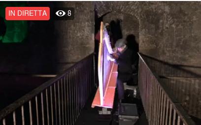 VIDEO – Concerto di Arpa celtica nel pozzo di San Patrizio