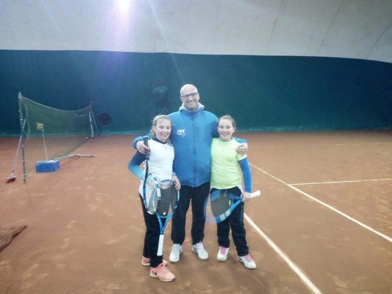 Esordio col botto della formazione Under 12 femminile del Tennis Club Acquapendente nel Girone unico provinciale Campionato a squadre
