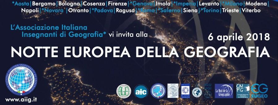 All'Unitus arriva la Notte Europea della Geografia, full immersion nel mestiere del geografo
