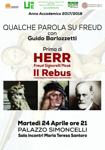 Due eventi eccezionali all'UniTre di Orvieto con Roberto Abbondanza e Guido Barlozzetti