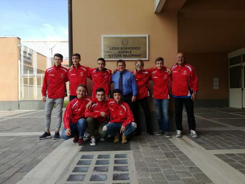 Otto studenti del Liceo Majorana a Palermo per i Campioni Nazionali Studenteschi di Atletica Leggera