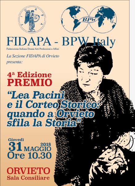 """""""Lea Pacini e il Corteo Storico:quando a Orvieto sfila la storia"""", assegnazione dei premi agli studenti"""
