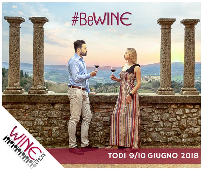 """""""Un sorso al cuore"""" con Wine Show. A Todi il 9 e 10 giugno 120 cantine e produttori da tutta Italia"""
