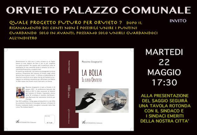 """""""Quale progetto futuro per la città di Orvieto?"""", tavola rotonda tra sindaci e """"La Bolla. Il Caso Orvieto"""""""