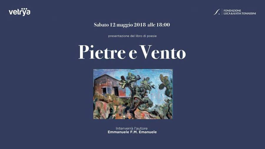"""Pietre di Vento"" presentazione del libro di Emmanuele F.M. Emanuele al Vetrya Corporate Campus"