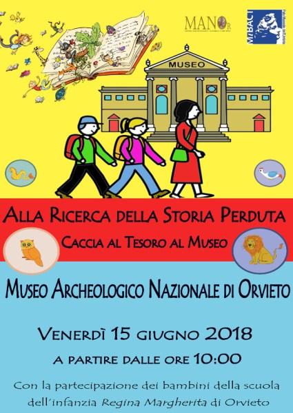 Alla ricerca della Storia perduta, caccia al tesoro al Museo Archeologico di Orvieto
