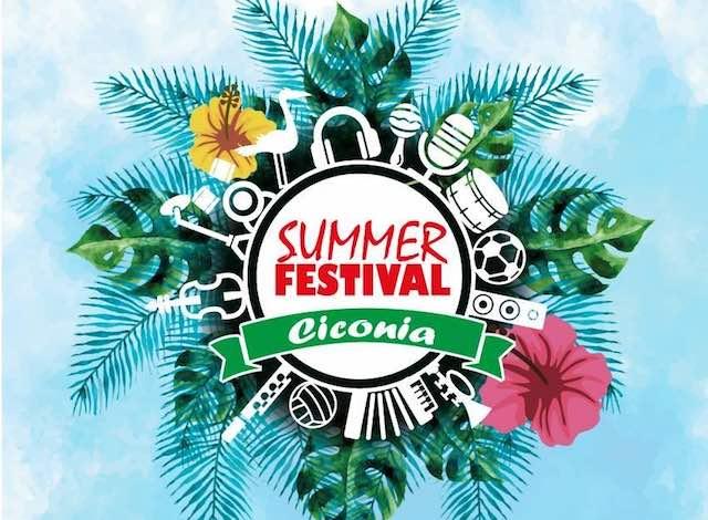 Ciconia Summer Festival 2019, vietata la vendita di bottiglie di vetro e di lattine