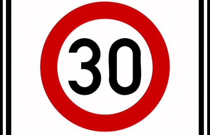 Predisposto limite di velocità a 30 chilometri orari sulle SP 51 Della Sala e 52 Fabro-Parrano
