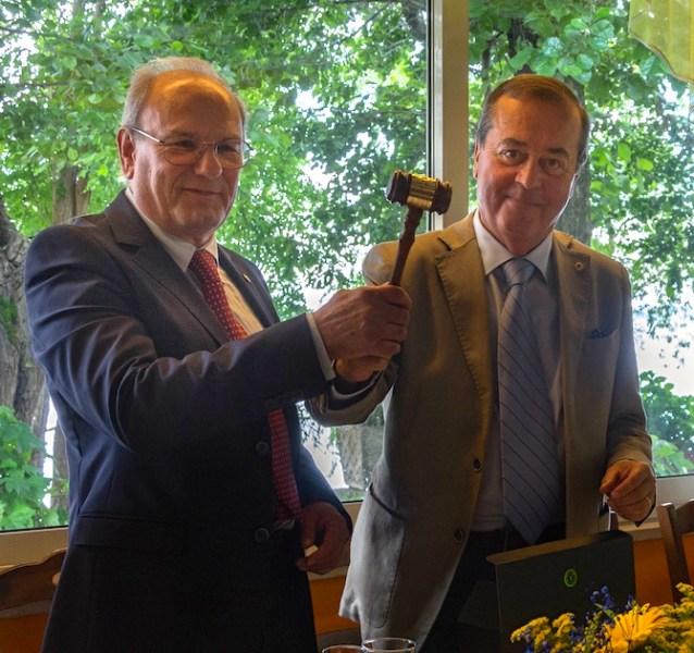 Passaggio della campana per il Lions Club Orvieto, Francesco Manciati è il nuovo presidente