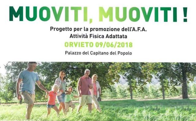"""""""Muoviti, Muoviti!"""" a Palazzo del Popolo, convegno medico-sportivo sulla cultura della salute"""