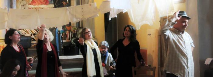 Spettacolo teatrale con Teresina e la Compagnia Batton l'otto al Casale Giardino di Acquapendente
