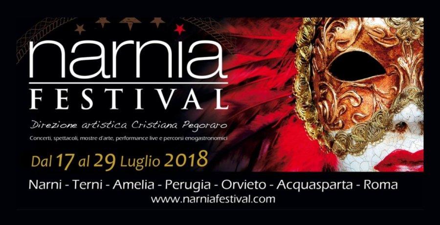 """Pronto ad iniziare il """"Narnia Festival"""", da Terni a New York 12 giorni di contaminazioni"""