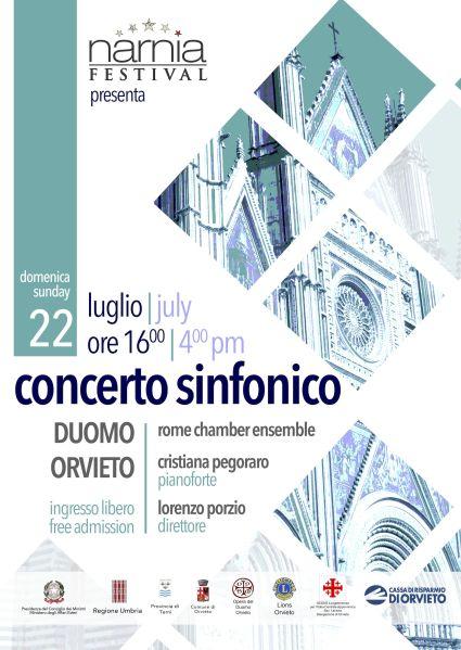 Per il Narnia Festival concerto Sinfonico della Rome Chamber Ensemble al Duomo di Orvieto