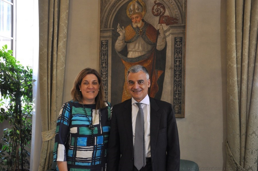 Ricevuto a Palazzo Donini il nuovo Prefetto di Perugia, Carlo Sgaraglia